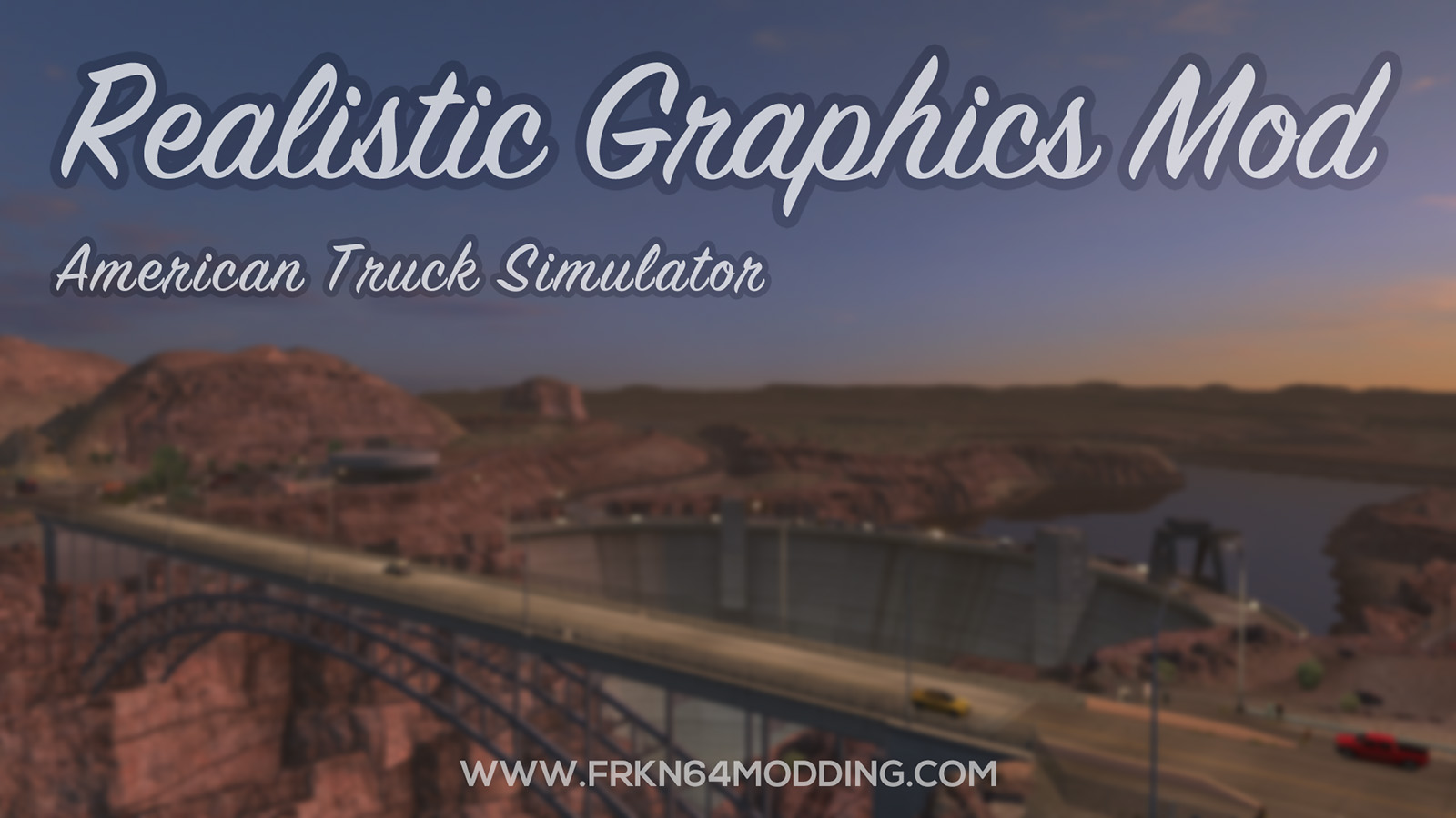 Realistic Graphics Mod v5.2 for ATS