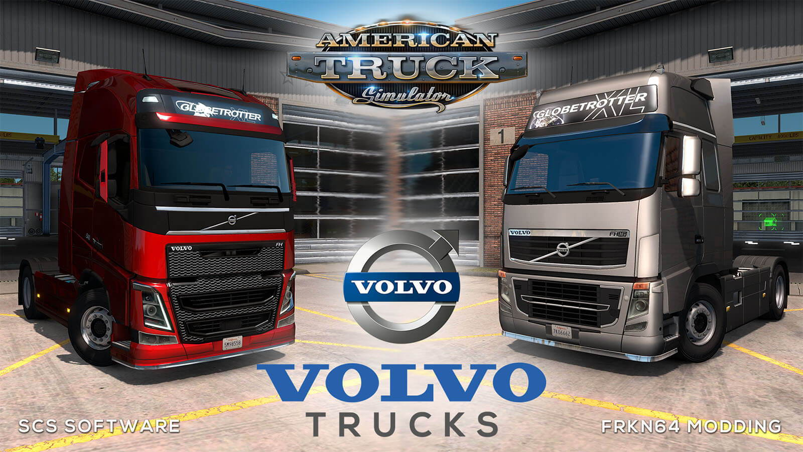 VOLVO FH16 Trucks Mod v6.3 for ATS