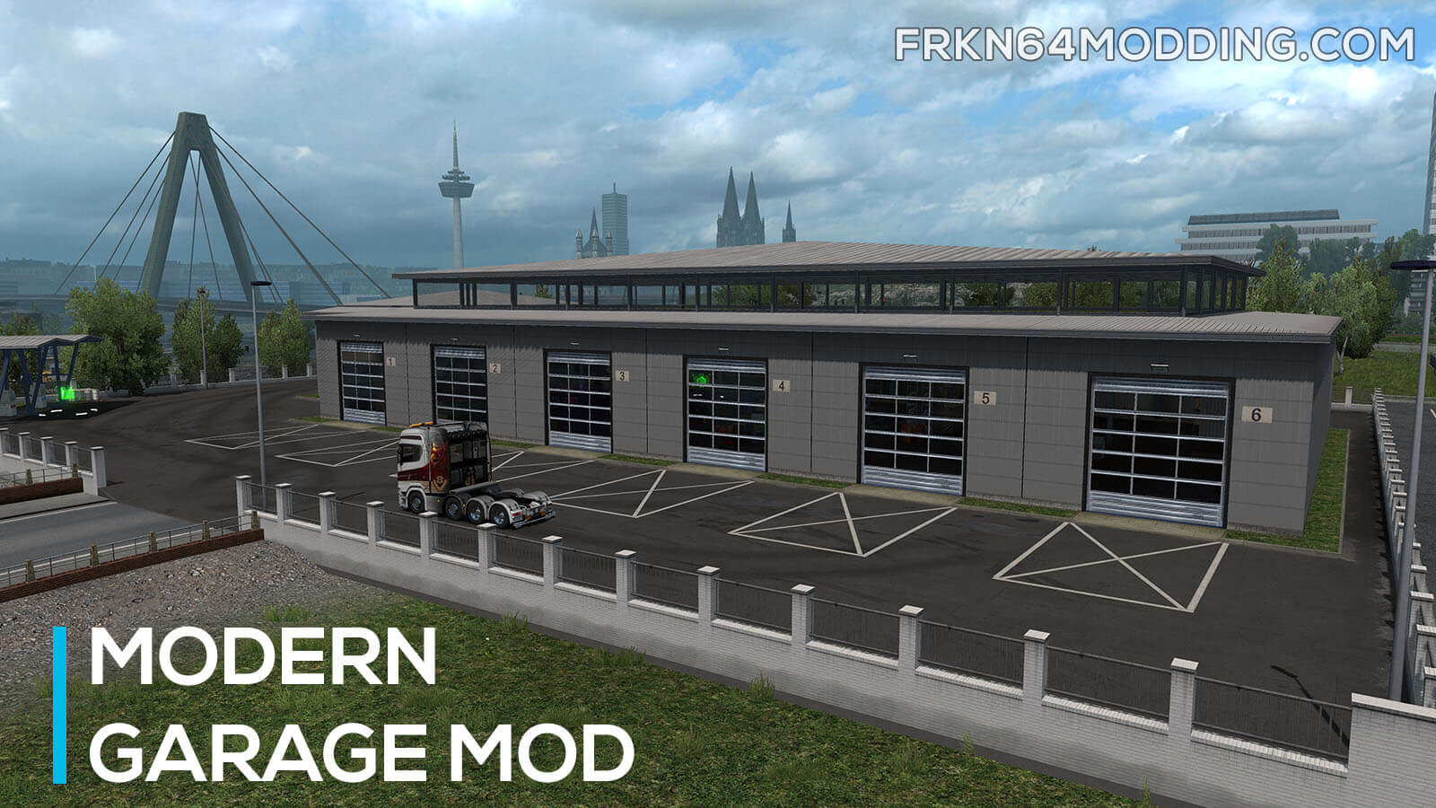 Modern Garage Mod v1.4 for ETS 2