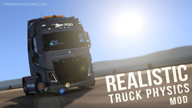 Realistic Truck Physics Mod v8.0 for ETS 2